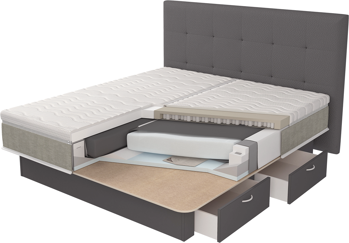 Lectus waterbed technologie